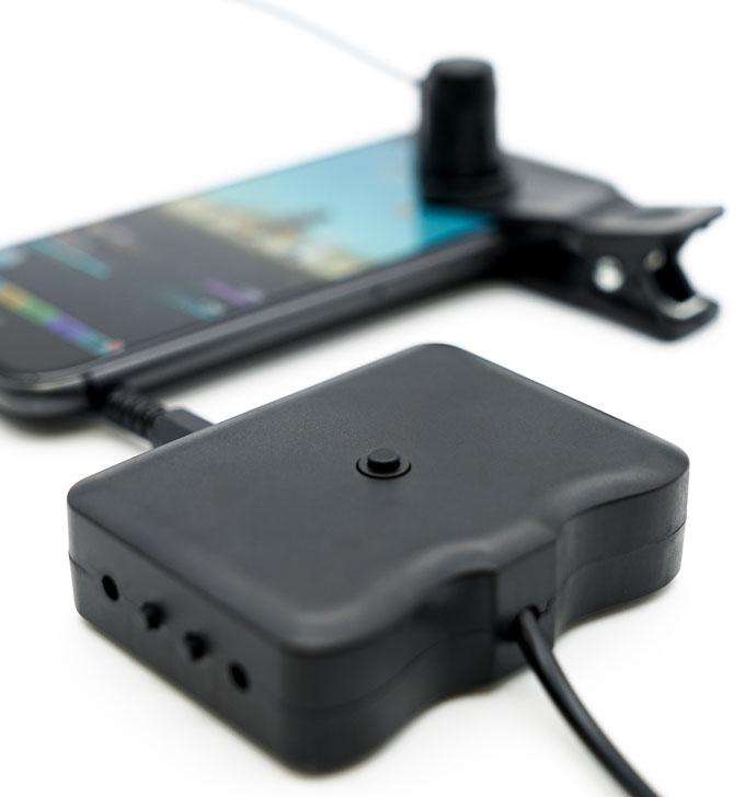 スマホ連打デバイス 「スマッチ」を店舗で体験しよう